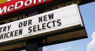 McDonald's to Stop Selling Chicken Raised With Highest Priority Antibiotics Worldwide