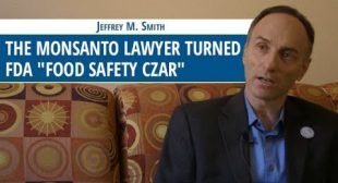 Conflict? The Monsanto Lawyer Turned FDA  Food Czar, GMO's Safe