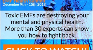 EMF Health Summit 2018 – Free & Online 9-15th December!
