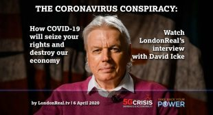 David Icke on LondonReal: How COVID-19 will seize your rights & destroy our economy