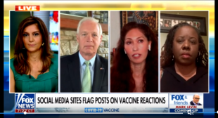Fox And Friends Sunday Interviews Those Negatively Affected By The COVID Vaccine