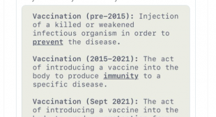 CDC Changes Definition of Vaccine So It Can't Be 'Interpreted to Mean That Vaccines Are 100% Effective'